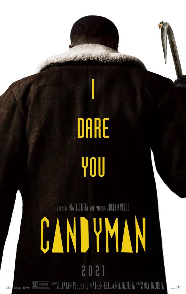 Candyman's remake will finally enter theatres on August 27th, after significant delays owing to the coronavirus epidemic. New Poster For Nia DaCosta's 'Candyman'
