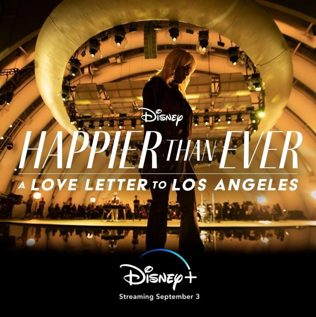Happier Than Ever: A Love Letter To Los Angeles – A Billie Eilish concert  experience Teaser Drops