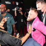 Conor McGregor Accusing Of Punching